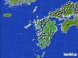 2015年08月31日の九州地方のアメダス(降水量)