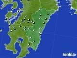 2015年08月31日の宮崎県のアメダス(降水量)