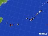 2015年08月31日の沖縄地方のアメダス(日照時間)