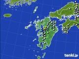 九州地方のアメダス実況(降水量)(2015年09月01日)