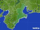 2015年09月01日の三重県のアメダス(降水量)