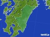2015年09月01日の宮崎県のアメダス(降水量)