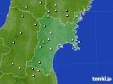 2015年09月01日の宮城県のアメダス(降水量)