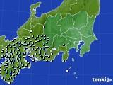 2015年09月03日の関東・甲信地方のアメダス(降水量)