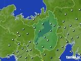 2015年09月03日の滋賀県のアメダス(降水量)