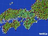 2015年09月04日の近畿地方のアメダス(日照時間)
