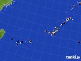 2015年09月05日の沖縄地方のアメダス(日照時間)