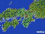 2015年09月05日の近畿地方のアメダス(日照時間)
