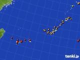 2015年09月06日の沖縄地方のアメダス(気温)