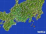 2015年09月06日の東海地方のアメダス(気温)