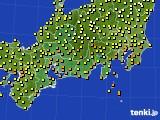 2015年09月07日の東海地方のアメダス(気温)