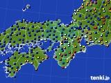 2015年09月09日の近畿地方のアメダス(日照時間)