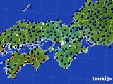 2015年09月17日の近畿地方のアメダス(日照時間)
