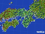 2015年09月21日の近畿地方のアメダス(日照時間)