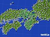 近畿地方のアメダス実況(風向・風速)(2015年09月24日)