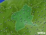 群馬県のアメダス実況(降水量)(2015年09月25日)