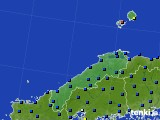 島根県のアメダス実況(日照時間)(2015年09月25日)