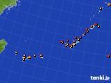 2015年10月01日の沖縄地方のアメダス(気温)