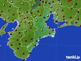 三重県のアメダス実況(日照時間)(2015年10月04日)
