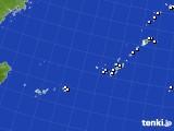 2015年10月10日の沖縄地方のアメダス(降水量)