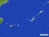 2015年10月21日の沖縄地方のアメダス(降水量)