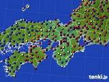 2015年11月05日の近畿地方のアメダス(日照時間)
