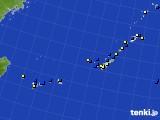2015年11月26日の沖縄地方のアメダス(風向・風速)
