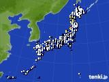 2015年11月27日のアメダス(風向・風速)