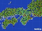 2015年11月28日の近畿地方のアメダス(日照時間)