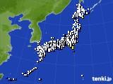 2015年11月28日のアメダス(風向・風速)