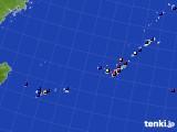 2015年11月29日の沖縄地方のアメダス(日照時間)