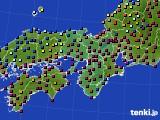 2015年11月30日の近畿地方のアメダス(日照時間)