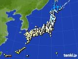 2015年11月30日のアメダス(気温)