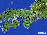 2015年12月02日の近畿地方のアメダス(日照時間)