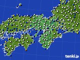2015年12月03日の近畿地方のアメダス(風向・風速)