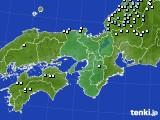 2015年12月04日の近畿地方のアメダス(降水量)