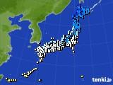2015年12月04日のアメダス(気温)