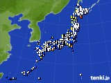 2015年12月04日のアメダス(風向・風速)