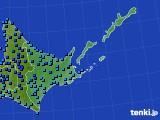 道東のアメダス実況(気温)(2015年12月05日)