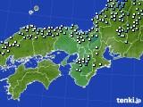 2015年12月11日の近畿地方のアメダス(降水量)