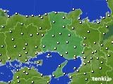 2015年12月11日の兵庫県のアメダス(気温)