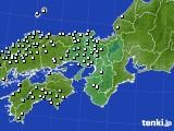 2015年12月15日の近畿地方のアメダス(降水量)