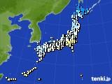 アメダス実況(気温)(2015年12月16日)