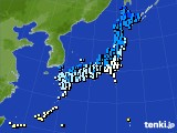 アメダス実況(気温)(2015年12月17日)