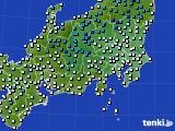 アメダス実況(気温)(2015年12月19日)