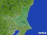 茨城県のアメダス実況(気温)(2015年12月19日)