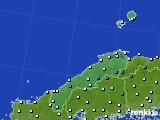 島根県のアメダス実況(気温)(2015年12月19日)