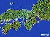 2015年12月26日の近畿地方のアメダス(日照時間)