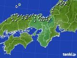 2015年12月27日の近畿地方のアメダス(降水量)