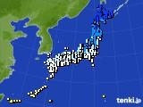 アメダス実況(気温)(2015年12月30日)